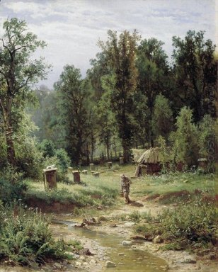 Bee Families In The Forest 1876