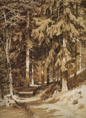 Path In The Forest 1891