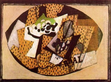 Still Life With Grapes Ii 1918