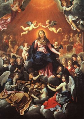 The Coronation Of The Virgin 1626