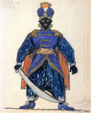 blackamoor costume design