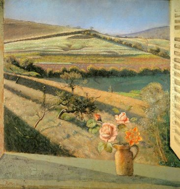 The Bouquet Of Roses On The Window 1958