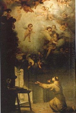 Vision Of St Anthony Of Padua 1656