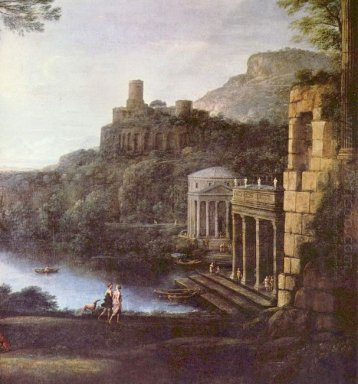 Landscape With The Nymph Egeria And Numa 1669