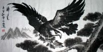 Eagle - Pittura cinese