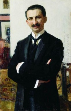 Portrait Of G I Shoofs 1907
