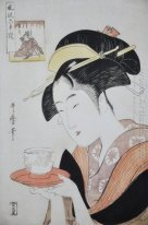 Portrait Of Naniwaya Okita