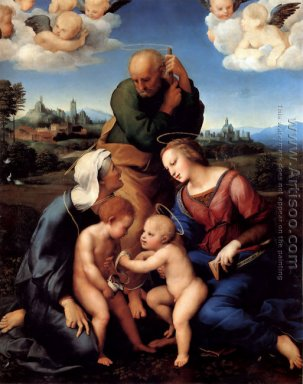 The Holy Family with Saints Elizabeth and John (or The Canigiani