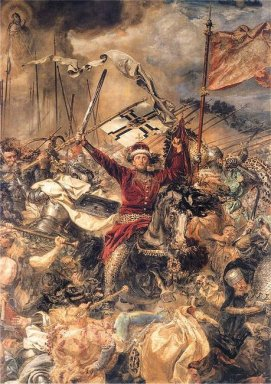 Battle Of Grunwald Witold Detail