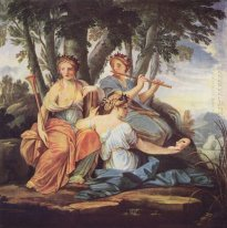 Clio, Euterpe and Thalia