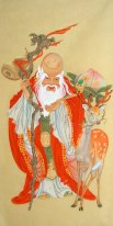 Longevity - Chinese Painting