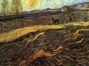 Enclosed Field With Ploughman 1889 1