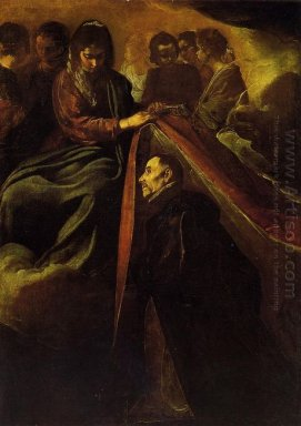 The Virgin Appearing To St Ildephonsus And Giving Him A Robe 162