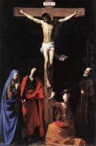 Christ on the Cross with the Virgin, Mary Magdalene, St. John an