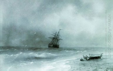 Rough Sea 1844