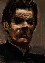Portrait of Maxim Gorky