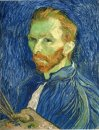 Self Portrait With Pallette 1889
