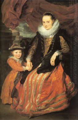 portrait of susanna fourment and her daughter 1620