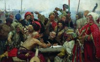 The Reply Of The Zaporozhian Cossacks To Sultan Mahmoud Iv 1896
