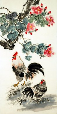 Chicken - Chinese Painting