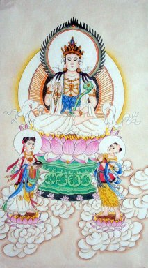 Guanyin Pusa - Chinese Painting
