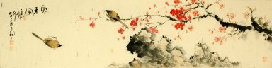 Plum Blossom&Birds - Chinese Painting