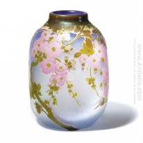 Apple Blossom Vase