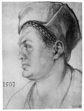 portrait of william pirckheimer 1503