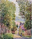 a street in louveciennes 1878