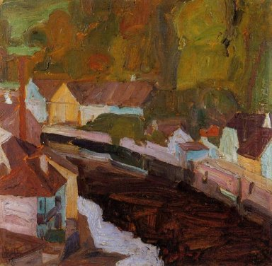 village by the river 1908