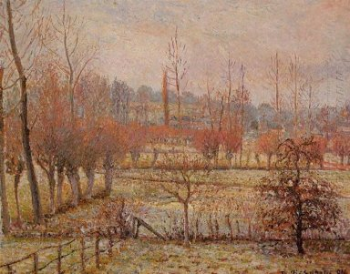 snow effect at eragny 1894