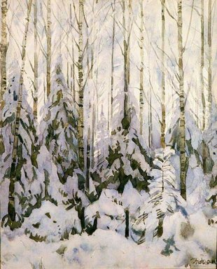 Winter In The Forest 1935