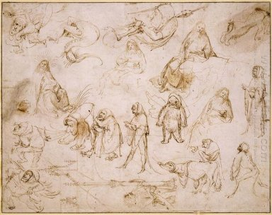 Sketches For A Temptation Of St Anthony