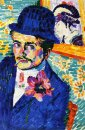Man With A Tulip Also Known As Portrait Of Jean Metzinger