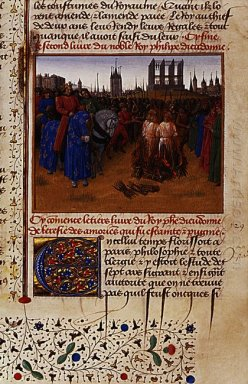 Conviction And Punishment Supporters Of Amaury De Chartres 1460