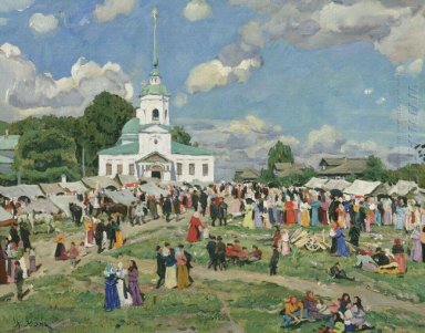 Rural Holiday Tver Governorate 1910