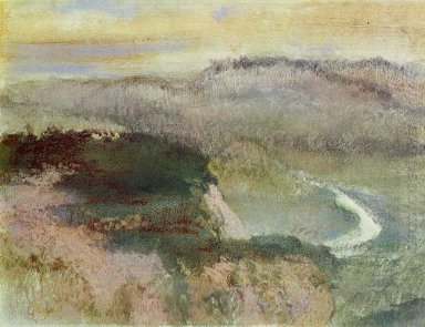 landscape with hills 1890
