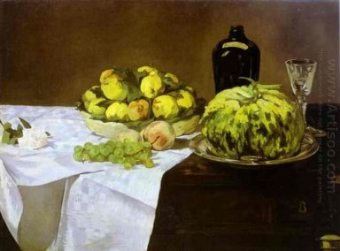 still life with melon and peaches 1866