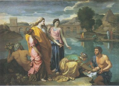 The Finding Of Moses 1638