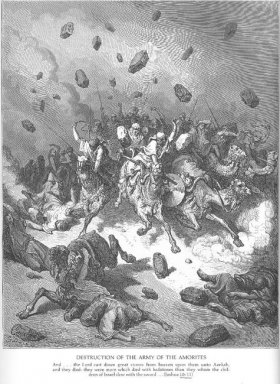 The Army Of The Amorites Is Destroyed