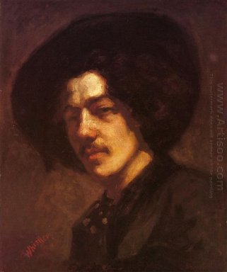 Portrait Of Whistler With A Hat 1859