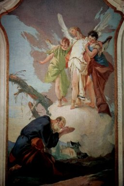 The Appearance Of The Angels To Abraham 1728