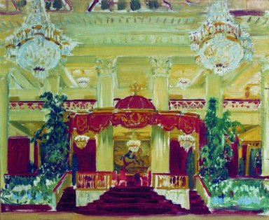 Nobility Assembly Hall In St Petersburg 1913