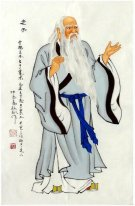 Laozi - Chinese Painting