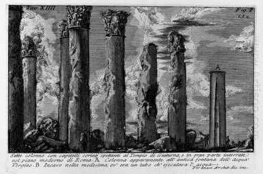 The Roman Antiquities T 1 Plate Xiv 1756