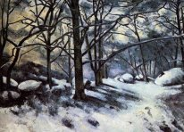 Melting Snow Fontainbleau 1880