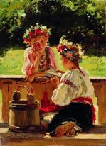 Girls Lightened By Sun 1901
