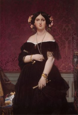 Portrait Of Madame Moitessier Standing