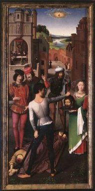 St John Altarpiece Left Wing 1479
