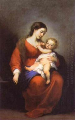 Virgin And Child 1680
